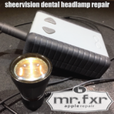 shorted dental LED headlamp