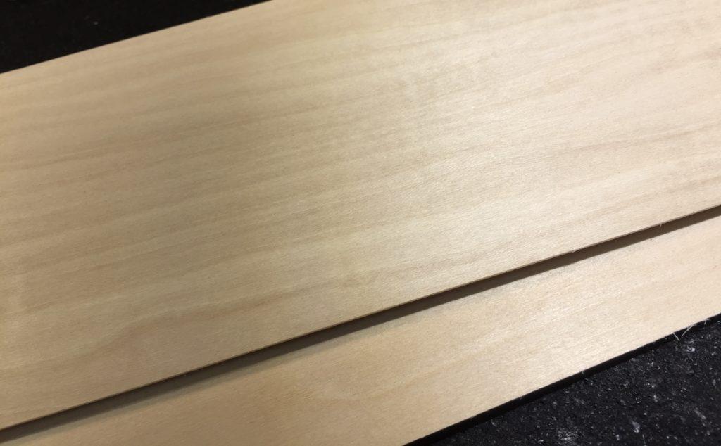 basswood veneer