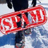 snowshoe spam
