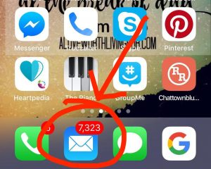 email inundation