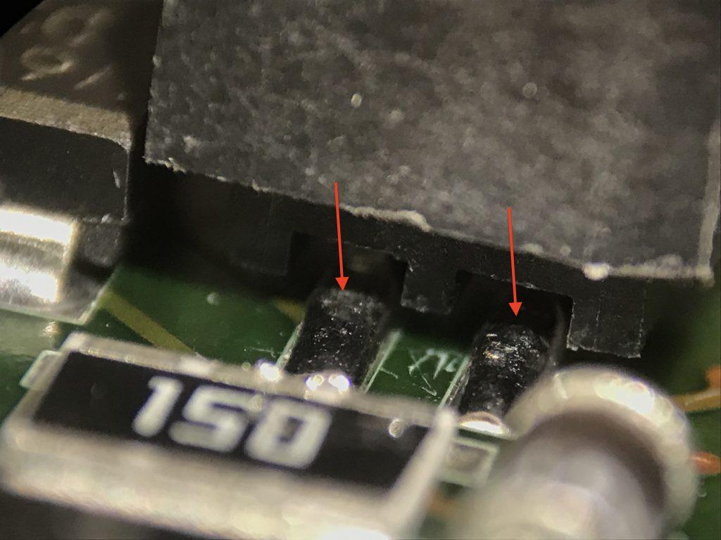 range rover L322 reverse camera repair